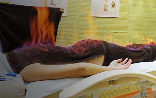 огненный массаж